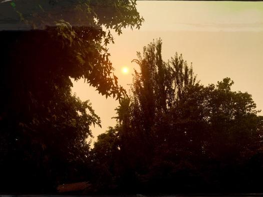 Angry Smoke Hazed Sun