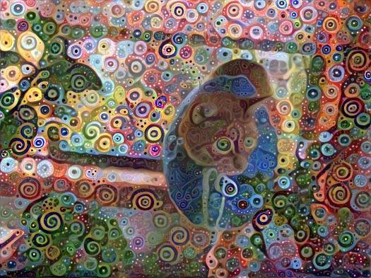 Swirly Eye Conehead (Raja Kitty)