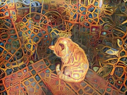 Golden Mosaic Raja Kitty